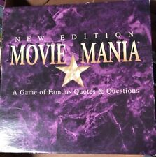 MOVIE MANIA NEW EDITION FAMOUS QUOTES & QUESTIONS TRIVIA GAME