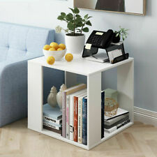 Modern Small Coffee Table Living Room Side Table With Storage Space Square Desk