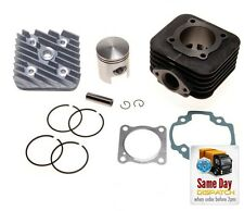 NEW BIG BORE CYLINDER HEAD KIT 70CC Piaggio Zip Base 50 2T AC 1991-1994