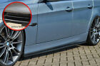 CUP Seitenschweller Schweller Sideskirts ABS BMW E90 E91 3er schwarz glänzend