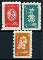 China 1952 PRC Labor Day C15 Scott #138-40 Set Mint  S138