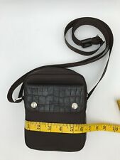 LONGCHAMP rare small nylon cross body bag - fits CELLPHONE and more!!