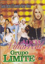 Alicia Villareal y Grupo Limite Exitos desde el comienzo Hasta Ahora DVD NEW