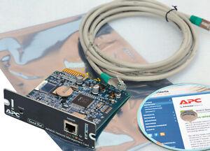 APC AP9630 NETZWERKKARTE NETWORK MANAGEMENT CARD 2 SOFTWARE CD FOR UPS USV 80