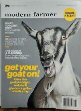 Modern Farmer Summer 2017 Get Your Goat On What To Plant Now FREE SHIPPING sb