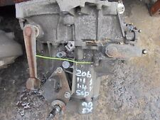 PEUGEOT 206 1.1/1.4 PETROL 5 SPEED GEARBOX 98 TO 06 CABLE CLUTCH TYPE
