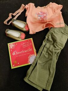"""American Girl Doll True Style Pants headband Shoe Set Outfit Complete 18""""  Charm"""