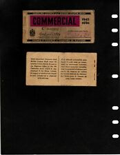 CANADA REVENUE GASOLINE LICENCE AND RATION COUPON BOOK (ITEM 1025)