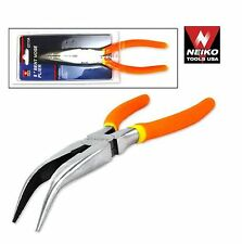 """NEIKO 02113A - Bent Nose Pliers 8"""" Drop Forged Polished High Carbon Steel - New"""