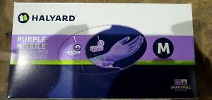 HALYARD PURPLE NITRILE Exam Gloves 100 Count Medium
