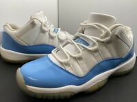 Nike Jordan XI 11 Retro Low Sz 7Y University Blue UNC North Carolina 528896-106