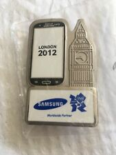 VERY RARE London 2012 Olympic Samsung Big Ben Pin Badge