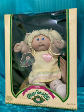 Cabbage Patch Doll 1985 Blond Hair Blue Eyes
