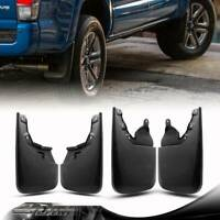 Universal fit JDM Rear Bumper Side Splash Guards Black Polyurethane PU Plastic