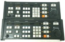 (2) USED AMERICAN DYNAMICS AD2089 Full System Matrix Keyboards with Keys & Cords