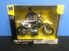 Suzuki RCH RM-Z450 Factory Racing Dirt Bike Ken Roczen #94 NewRay 1:12 scale