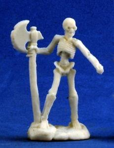 1 x SQUELETTE GUERRIER HACHE - BONES REAPER figurine miniature jdr rpg skeleton