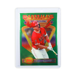 2020 Topps Finest Flashbacks #116 Mike Trout All-Stars