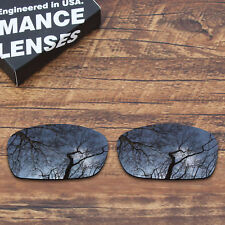T.A.N Polarized Replacement Lens for-Oakley Fives Squared (4+1)² Black Iridium