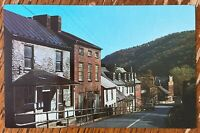 HARPERS FERRY WEST VIRGINIA HISTORIC HIGH STREET POSTCARD Q38