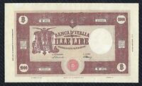 "Banconota 1000 lire Grande ""M"" (MEDUSA) 1948  SPL+"