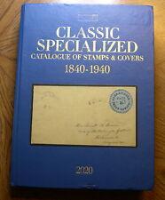 2020 Scott Classic Postage Stamp Catalog 1840-1940 (British until 1952) GZ9