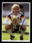 Rudi Völler Autogrammkarte DFB Weltmeister 1990  Original Signiert