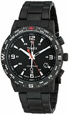 Timex Mens T2P288 Intelligent Quartz Adventure Series Compass Matte Black steel