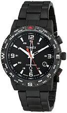 Timex Mens T2P288 Intelligent Quartz Adventure Series Compass Matte Black steel