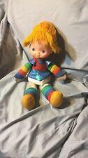 Vintage 80s Rainbow Brite Doll Large Size 1983 Hallmark Mattel Rare Collectable
