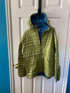 outdoor research baja down hoodie womens large