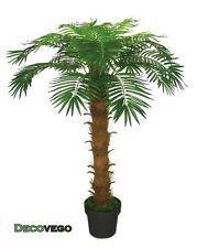 Palmenbaum Königs Kokos Palme Kunstpflanze Künstliche Pflanze 140cm Decovego