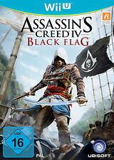 Assassin's Creed IV: Black Flag (Nintendo Wii U, 2013, DVD-Box)