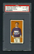 PSA 4.5 1910 C60 LaCROSSE CARD #87 HENRY DeCAIRE