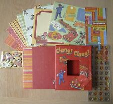 K&Co Kazoo Kids Mini Book Kit in Sleeve Box Papers, Embellishments Vintage Style
