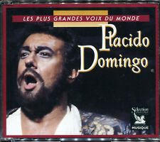PLACIDO DOMINGO - LES PLUS GRANDES VOIX DU MONDE - 3 CD ALBUM NEUF NEW SEALED