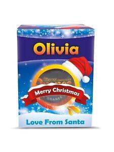 Personalised Terry's Chocolate Orange - Christmas Present Stocking Filler Santa