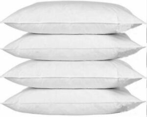 4 Pack Pillow Protectors Standard Size 50x70cm Washable Dust Proof Nonallergenic