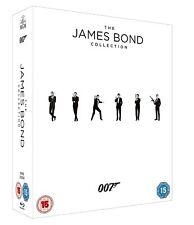 James Bond 007 Collection 23 Filme + Leerplatz Spectre 23 Blu Ray Box, NEU & OVP