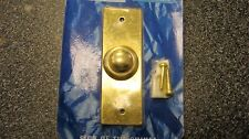 Brass Bell Push Button, Flush Fit Bell Push (requires hole)