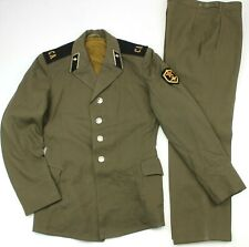 GENUINE RUSSIAN ARMY UNIFORM USED JACKET & TROUSERS (NO1)