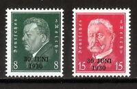 DR Nazi 3rd Reich Rare WW2 Top Stamp Hindenburg Overprint 1930 Classic Full Set