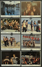 THE WARRIORS 1979 ORIGINAL 8X10 NM LOBBY CARD SET  MICHAEL BECK JAMES REMAR