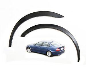 BMW 3 series E46 Wing Wheel Arch Trims 98-05 Brand New Set 4 pcs. Black Matt