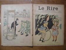 12/01/1901 LE RIRE 323 Nongip Abel Faivre Metivet