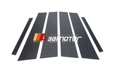 Carbon Fiber B Pillar Panel Decal Trim Cover 6PC for Mercedes W213 Sedan E-Class