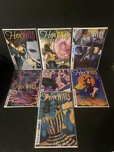 Hex Wives DC Black Label 1-6 Full Run High Grade With Extra Variant of Issue #1