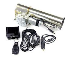76 mm elektrische Auspuff-Klappe Klappen-Steuerung regelbar System Ersatz-Rohr