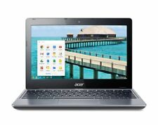 "Acer Chromebook C720-2103 11.6"" Intel Celeron 2955U 1.4GHz 2GB 16GB SSD Gray"