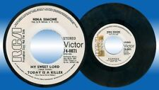 Philippines Jazz NINA SIMONE Poppies 45 rpm PROMO Record